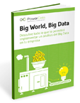 Big world big data simbolo