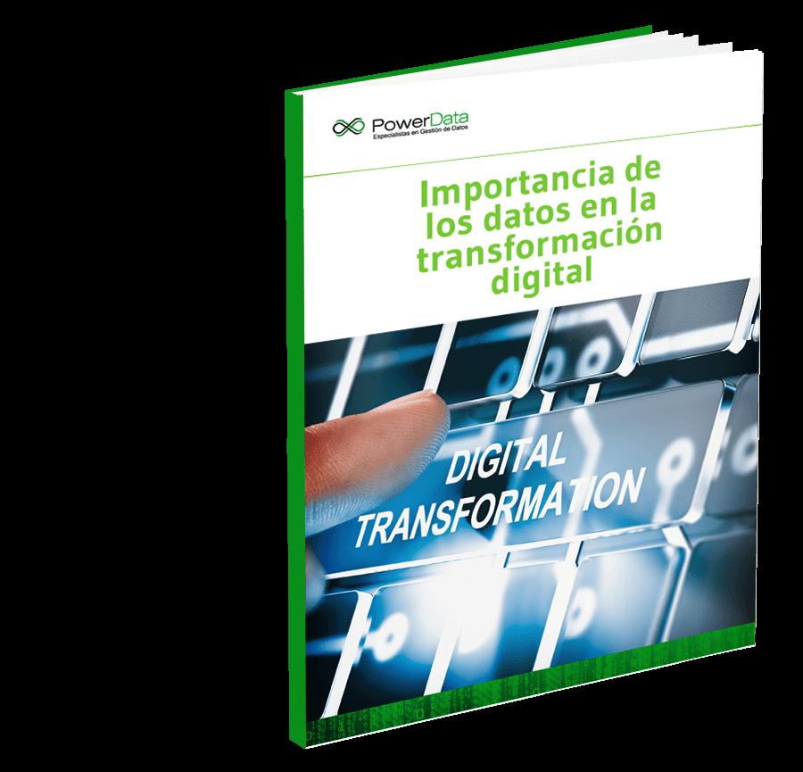 PWD - Importancia de los datos en la transformación digital - Portada