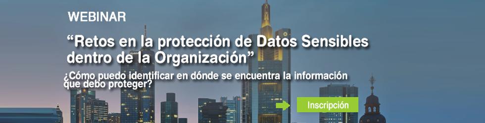 Retos en la protección de Datos Sensibles
